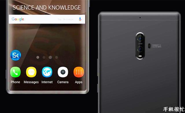 Безрамочный Huawei Mate 10 представят в октябре. А пока только концепт – фото 4