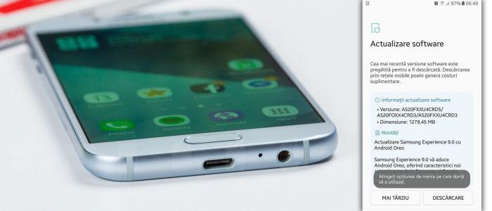 Samsung Galaxy A5 2017 получил обновление до Android Oreo – фото 2