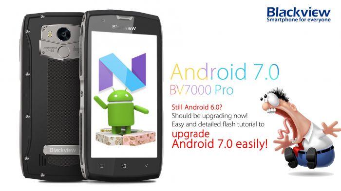 Blackview BV7000 Pro получает апдейт до Android Nougat – фото 2