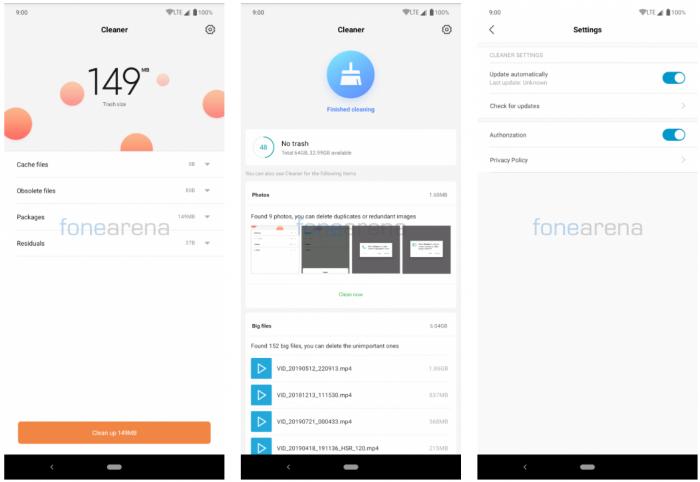 Xiaomi Cleaner Lite появился в Google Play Store – фото 1