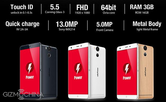 Ulefone Power: объявлена цена предзаказа на долгоиграющий смартфон – фото 1