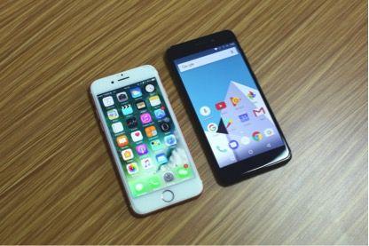 Vernee M5 против iPhone 7: сравнение дизайна – фото 1
