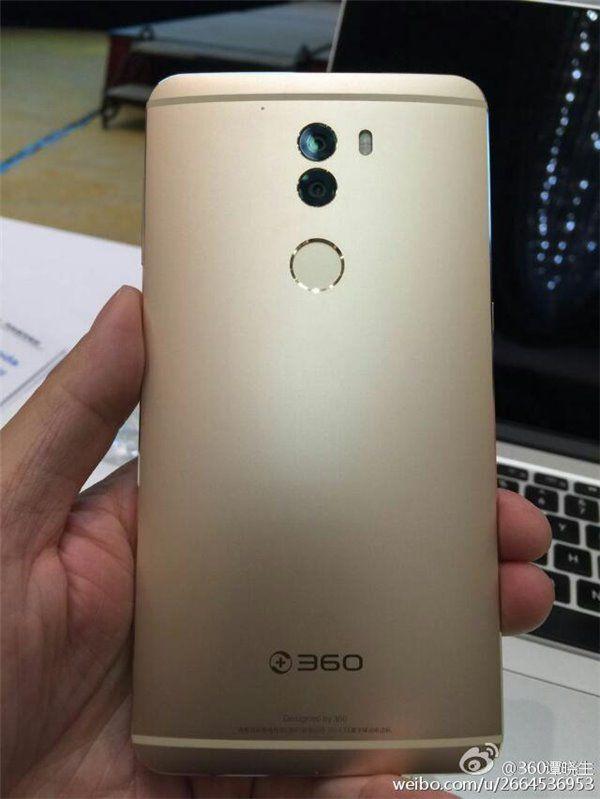 360 (Qiku) Q5 с двумя тыльными камерами и процессором Snapdragon 820 замечен на реальных снимках – фото 2