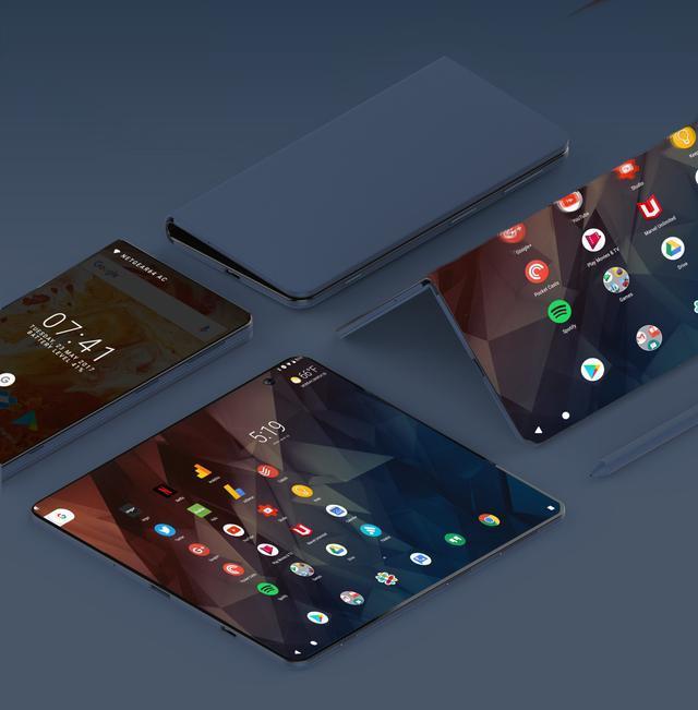 ZTE Axon Multy — складной смартфон, трансформирующийся в 6,8-дюймовый планшет – фото 3