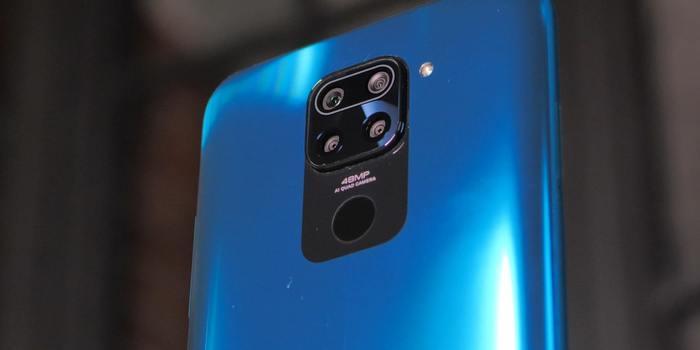 Redmi Note 9 сканер