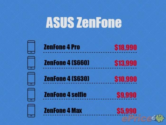 В сеть утекли характеристики и цены Asus ZenFone 4 и 4 Pro – фото 2