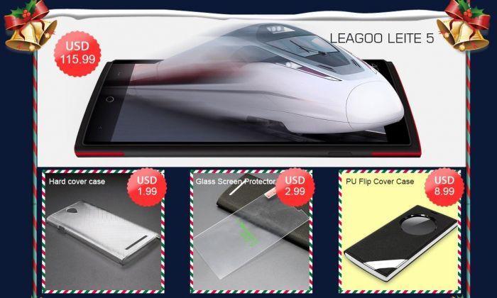 Рождественская распродажа смартфонов Leagoo в интернет-магазине Geekbuying.com – фото 2