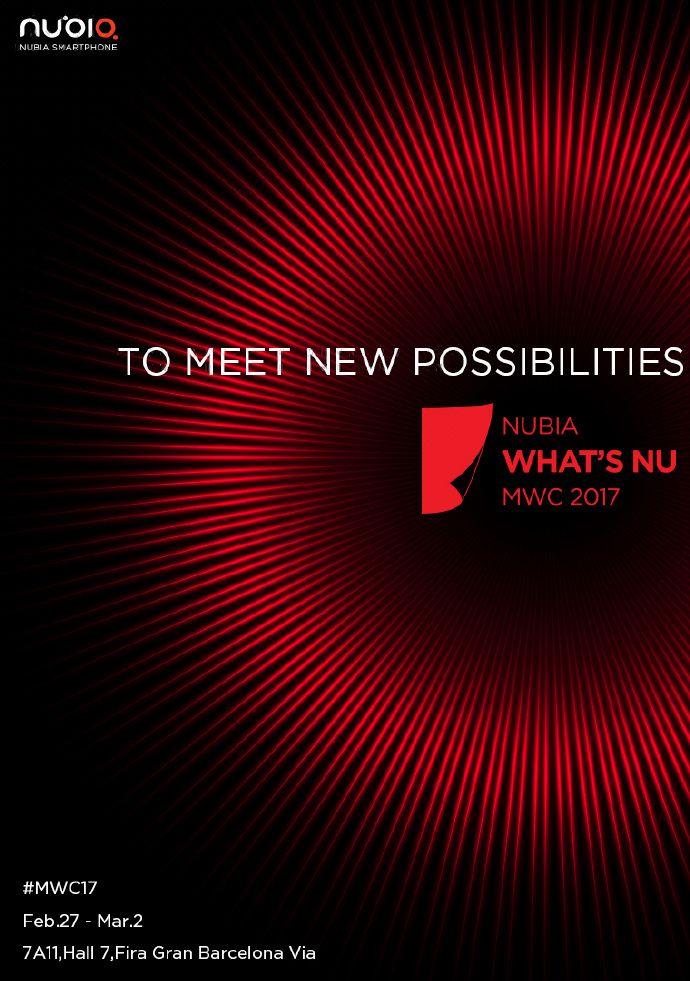 Nubia покажет новый смартфон на MWC 2017 – фото 1