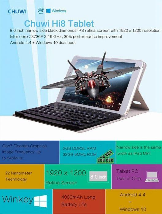 Пятерка лучших планшетов на Windows 10 по версии интернет-магазина Geekbuying.com – фото 2