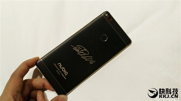 Nubia Z11 получит специальную версию в черном и золотом цвете – фото 1
