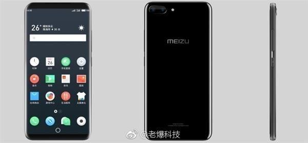 Чертежи Meizu Pro 7 подтверждают дизайнерские особенности флагмана и указывают на отсутствие фронтальной камеры – фото 2