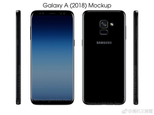 Samsung Galaxy A7 (2018) засветился на новых рендерах – фото 1