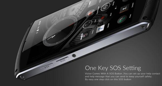 iMan Victor – защищенный смартфон с кнопкой SOS, Helio P10, сканером отпечатков пальцев и аккумулятором на 4500 мАч – фото 1