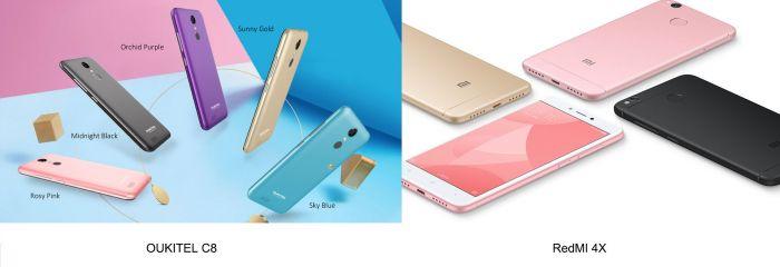 Выбираем лучший недорогой смартфон: Oukitel C8 или Xiaomi Redmi 4X – фото 4