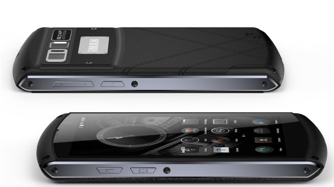 iMan Victor – защищенный смартфон с кнопкой SOS, Helio P10, сканером отпечатков пальцев и аккумулятором на 4500 мАч – фото 2