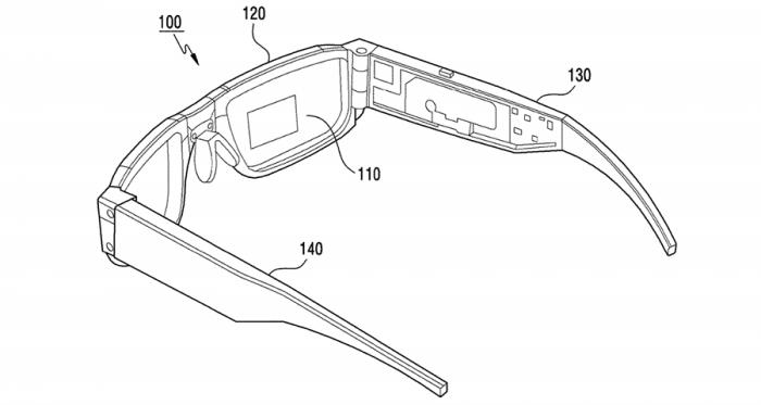 Samsung патентует очень интересные умные очки – фото 1