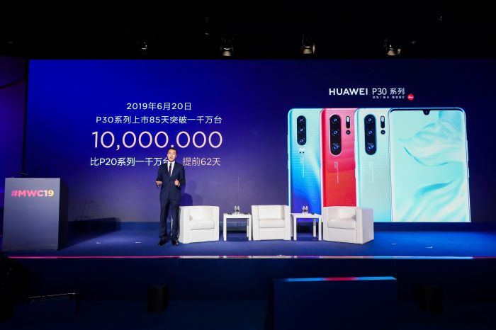 Менее чем за три месяца продано 10 млн устройств серии Huawei P30 – фото 1