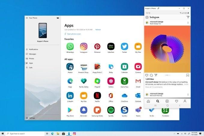 Со смартфонов Samsung можно запускать Android-приложения на ПК – фото 2