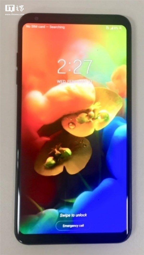 Опубликована фотография LG V35 ThinQ – фото 1