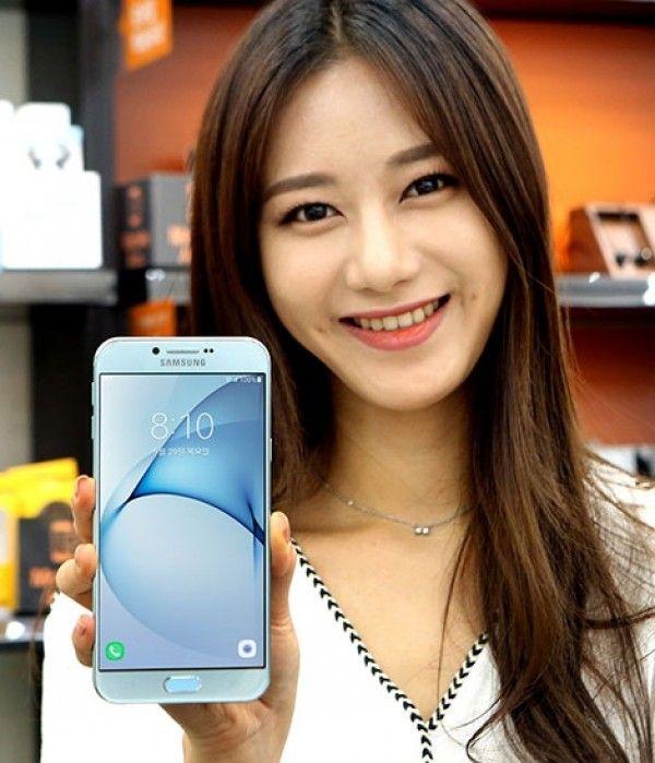 Samsung Galaxy A8 (2016) с AMOLED дисплеем 5.7