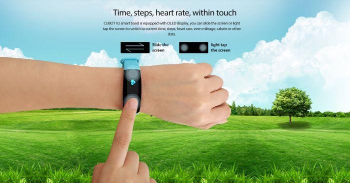 Умный фитнес браслет Cubot V2 позволит управлять камерами смартфона – фото 4