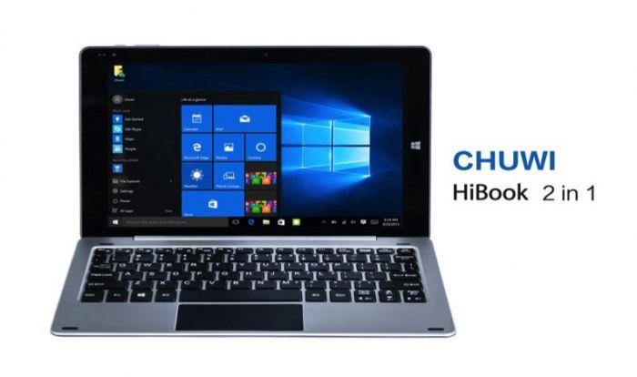 Chuwi HiBook-20160310: гибрид планшета и ноутбука с Windows 10 и USB Type-C – фото 1