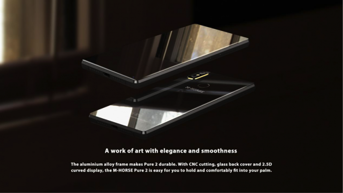 M-HORSE Pure 2 оснастят широкоформатным дисплеем и аккумулятором на 3800 мАч – фото 2