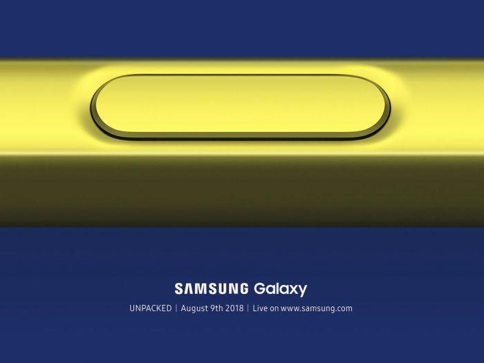 Samsung назначила дату анонса Galaxy Note 9 – фото 1