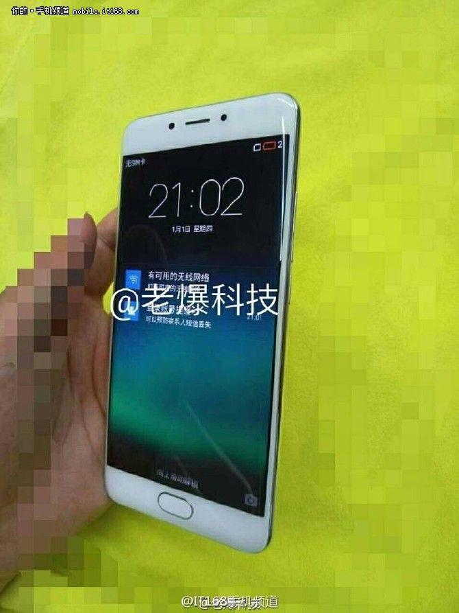 Смартфон Meizu с изогнутым дисплеем вновь дал о себе знать на «живых» снимках – фото 1