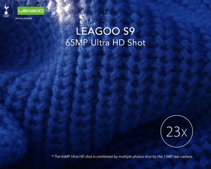 Leagoo S9 обещает создавать 65 Мп фотографии с 23-кратным увеличением – фото 1