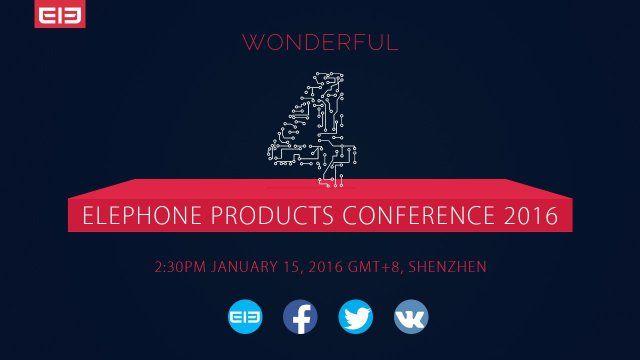 Elephone: 15 января анонс четырех новых продуктов – фото 1