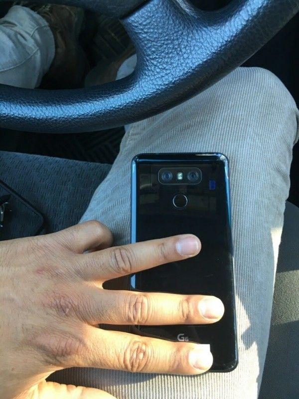 LG G6 показали на «живом» снимке – фото 1
