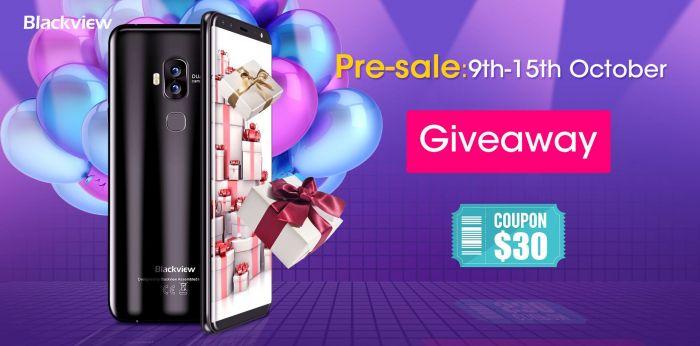 Стартовал прием предзаказов на Blackview S8, скидка $30 и розыгрыш бесплатного смартфона – фото 1