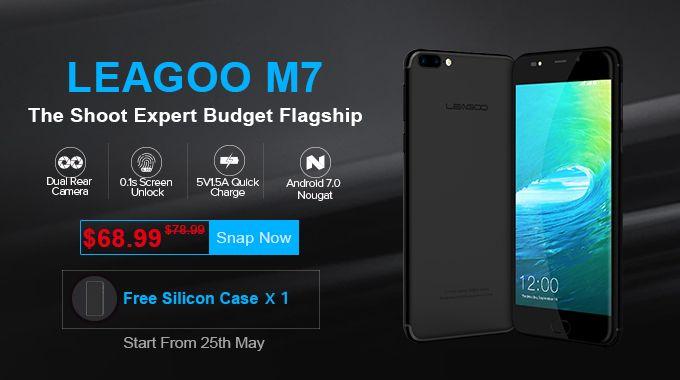 Глобальный старт продаж LEAGOO M7 с двойной камерой: сэкономьте $10 и получите бесплатно силиконовый чехол – фото 8