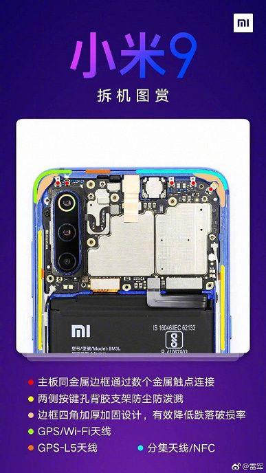Разборка Xiaomi Mi 9: какие сюрпризы спрятала компания внутри флагмана – фото 1