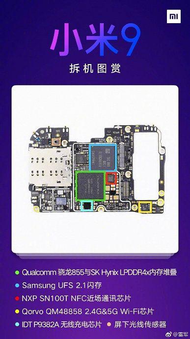 Разборка Xiaomi Mi 9: какие сюрпризы спрятала компания внутри флагмана – фото 6