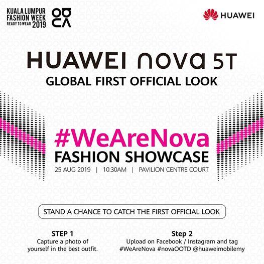 Объявлена дата анонса Huawei Nova 5T и это не компактный смартфон