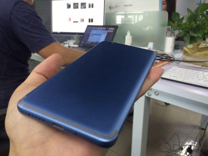 Vernee Mars: дугообразная антенна и синий цвет корпуса, как у iPhone 7 – фото 4