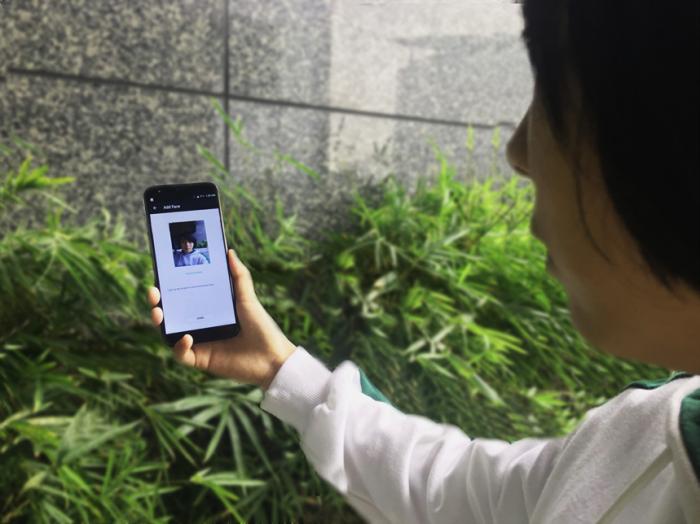 Видео как работает система распознавания лица у UHANS i8 – фото 1