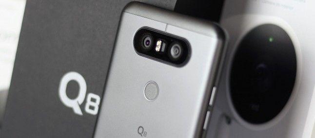 Готовится к выходу LG Q8+ – фото 1