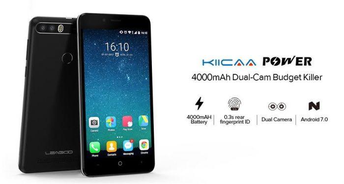Leagoo KIICAA Power предложит аккумулятор на 4000 мАч, двойную камеру и цену $69,99 – фото 1