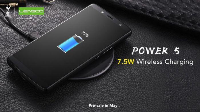 В Leagoo Power 5 есть поддержка беспроводной зарядки – фото 1