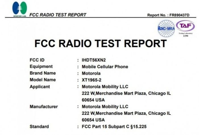 Moto G7 замечен на сайте FCC – фото 1