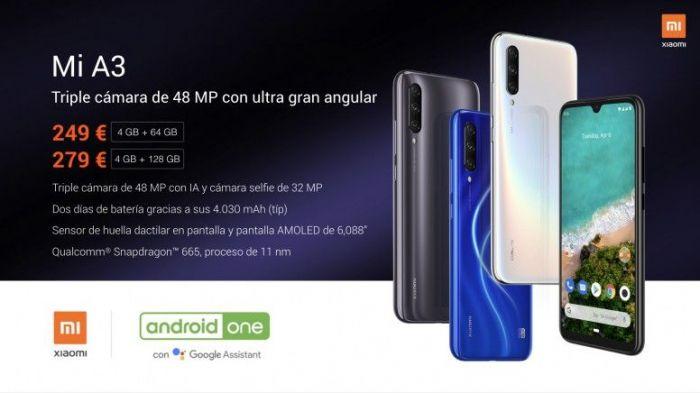 сколько стоит Xiaomi Mi A3