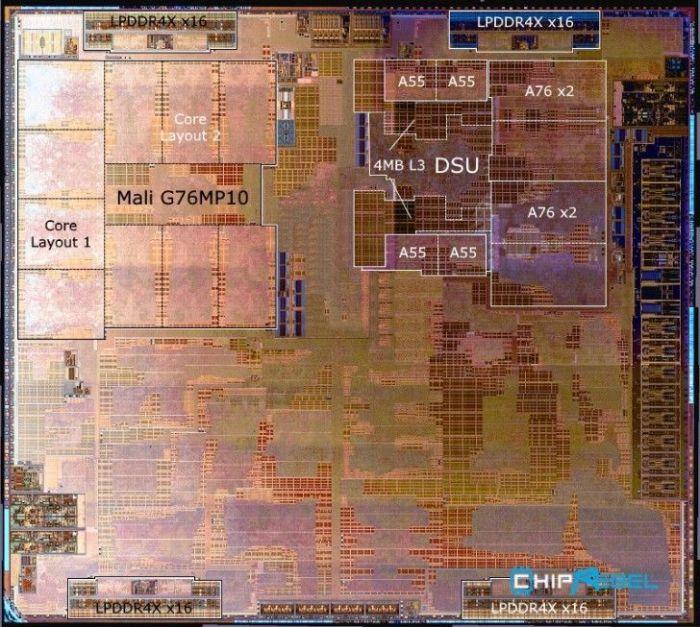 Снимок однокристальной системы Kirin 980 – фото 1