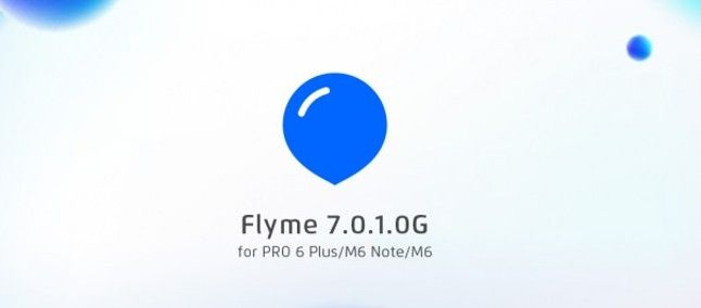 Meizu выпустила обновление Flyme 7.0.1OG для Meizu Pro 6 Plus, M6 Note и M6 – фото 1