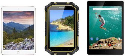 Характеристики планшета VKworld V6 в сравнении с Google Nexus 9 и Apple iPad mini 3, а также проверка защищенности корпуса – фото 1