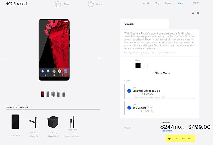 Essential Phone существенно подешевел – фото 1