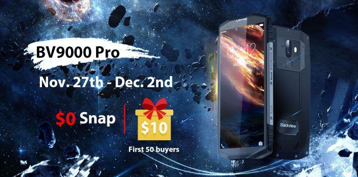 Только одну неделю Blackview BV9000 Pro с дисплеем 18:9 и двойной камерой доступен по цене $299,99 – фото 3