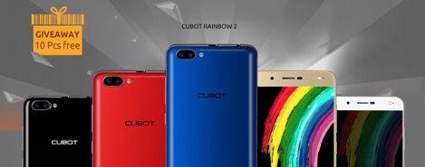 Акция: получи бесплатно Cubot Rainbow 2 – фото 1